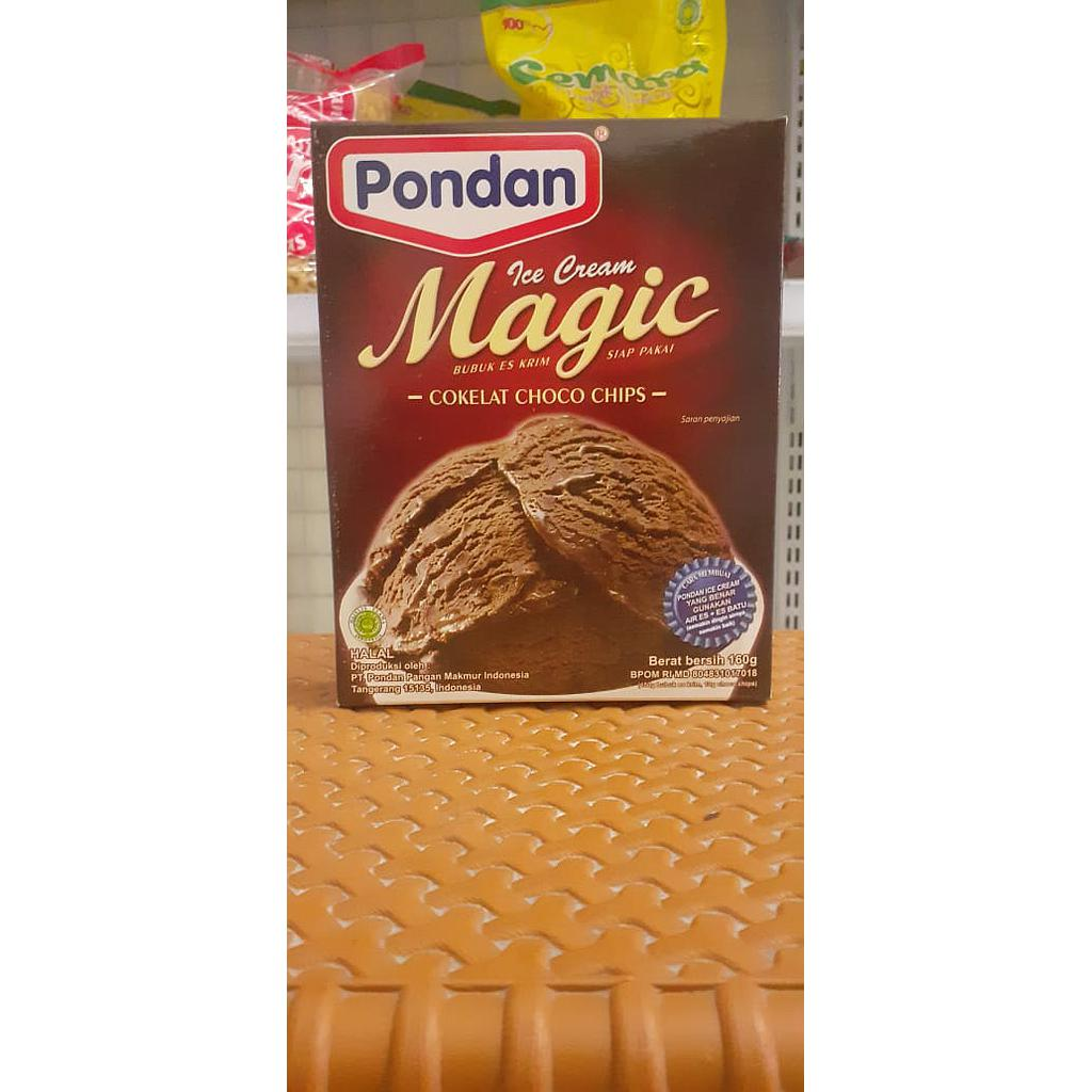 Pondan Ice Cream Coklat 160gr